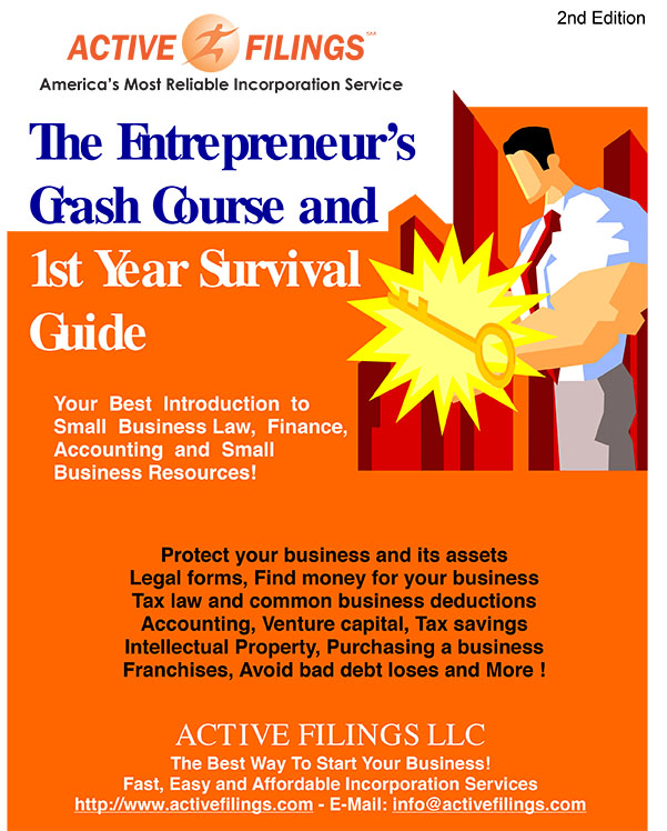 The Entrepreneur's Crash Course and 1st year Survival Guide eBook